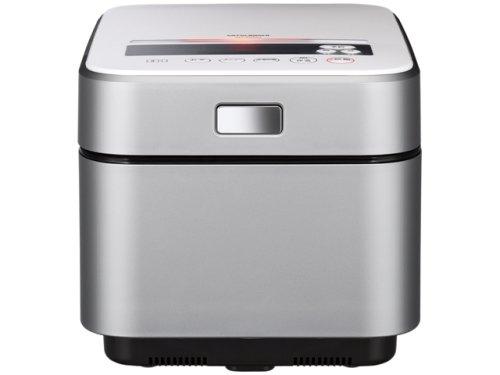 三菱 IHジャー炊飯器NJ-XS10J-S「蒸気レスIH」 (ダイヤモンドシルバー 5.5合炊き) B001QCXWME