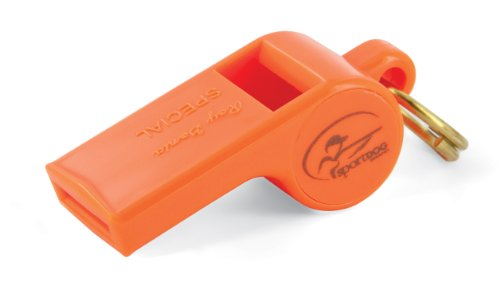SportDOG Brand Roy Gonia Special Whistle - Hunting Dog Whistle with Easy-to-Blow Design - For Training or Field Use - Lower-Pitched Sound (How To Make Dogs)