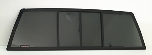 NAGD for Chevrolet C//K Series Pickup C10 C20 C30 K10 K20 K30 Sliding Window Glass Back Slider 4 Panel