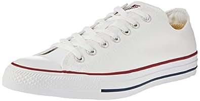 Converse Chuck Taylor All Star Sneakers Unisex, Optical White : 36.5 EU / 4 US Men / 4 US Women