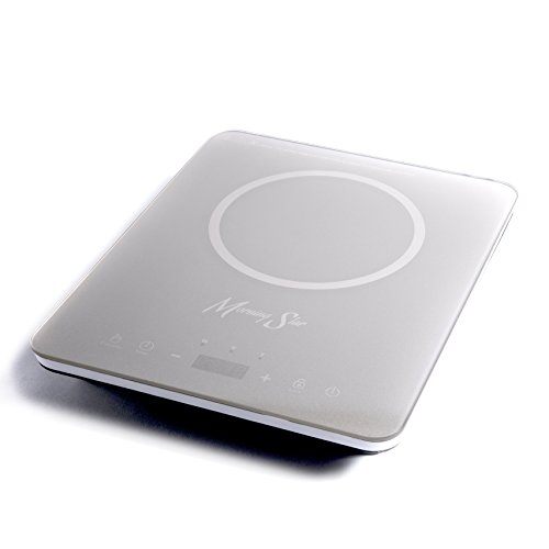 Morning Star MS-151 Induction Cooktop, Portable Countertop Burner, Ultra-Thin Design, Rapid Heat Technology, Auto-Pan Detection, Sleek Metallic Silver Color by Morning Star (Image #3)