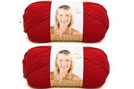 Bulk Buy: Vanna's Choice Lion Brand Yarn (2-pack) (Cranberry)