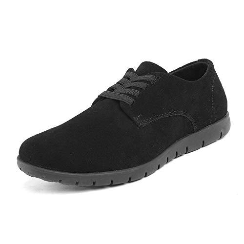 Bruno Marc Men's Black Casual Dress Sneakers Oxford Fashion Sneaker - 10 M US