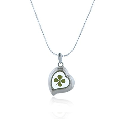 Stainless Steel Real Four (4) Leaf Clove - Shamrock Four Leaf Clover Shopping Results