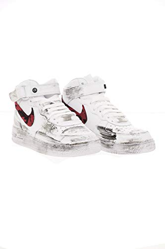 Sneakers NIKE Bianco Donna Force1 5 314195113CARDIF Air EU Rosso 37 4pnpxt