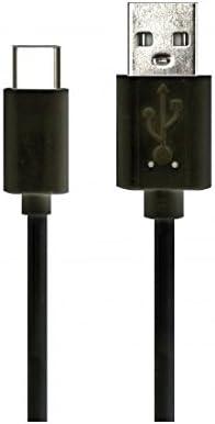 Simplemente ictc01 Negro USB Tipo C Cable, Cable de 1 m de Longitud, Compatible con Smartphones como Samsung, HTC, LG y Otros, Carga y sincronización, fiable de batería: Amazon.es: Coche y moto