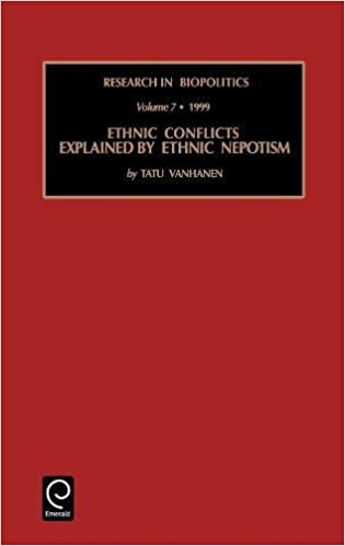 Ethnic Conflicts Explained by Ethnic Nepotism (Research In ...