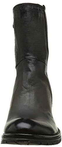 Black Black Ankle Booty Boots Bunker Women's BxqXTOI