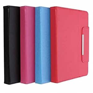 Universal PU Protective Magnetic Flip Case Cover For 8 Inch Tablet PC --- Color:Blue