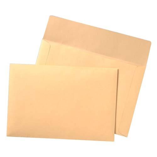 Flat Filing Envelope, 40 lb, 10''x14-3/4'', 100 Count, Cameo Buff, Sold as 1 Box - Quality Park Flat Filing Envelope, 40 lb, 10''x14-3/4'', 100 Count, C