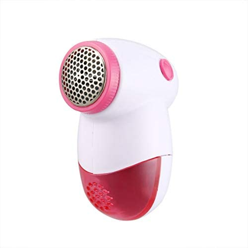 Garciakia Mini Portable Sweater Clothes Lint Pill Fluff Remover Hair Ball Trimmer Fabrics Fuzz Shaver Electric Lint Remover