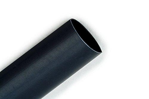 3M Heat Shrink Thin-Wall Tubing FP-301-1/2-Black-200', 200 ft Length per Spool by 3M (Image #1)