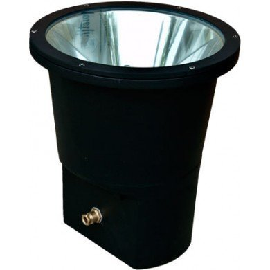 Dabmar Lighting DW1900-VG-MT Extra Large Well Light, 250W MH Multi Tap, Verde Green Finish