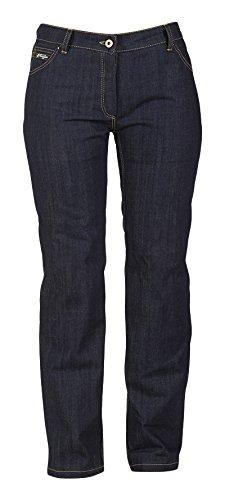 Furygan pantalones vaqueros mujer, color azul denim, talla 38