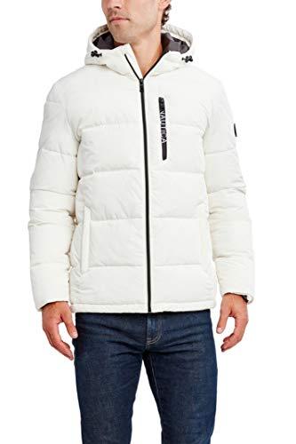 Nautica Men's Water Resistant Hooded Parka Jacket