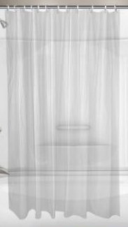 ProPlus 2473257 8 Gallon Vinyl Shower Curtain 6 By Feet Frosty
