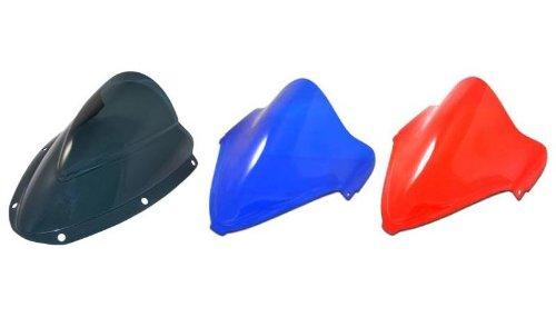 Blue Chrome Windscreen - 6