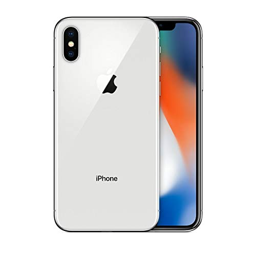 Apple iPhone X, Boost Mobile, 64GB - Silver - (Renewed)