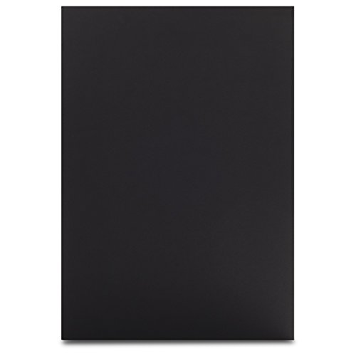 Elmer's Colored Foam Boards, 20 x 30 Inches, 3/16-Inch Thick, Black/Black, 10-Count (901120)