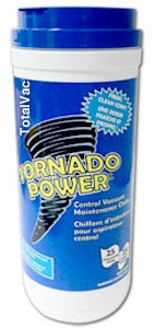 TornadoPower Central Vacuum Cleaning and Deodorizing Cloths-25 Count by TornadoPower