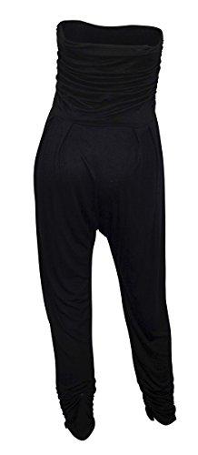 EVogues Plus Size Jumpsuit Black - 1X