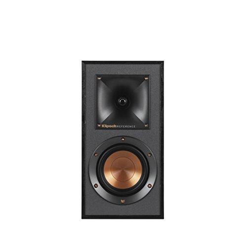Klipsch R-41M Powerful Detailed Bookshelf Home Speaker Set of 2 Black by Klipsch (Image #2)