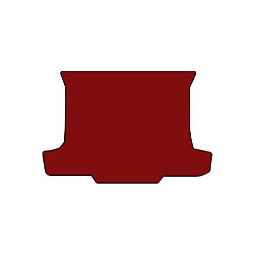 (Brightt (MAT-NYJ-139) Standard Deck Floor Mat - Red - compatible for 1971-1973 Ford Mustang Fastback (1971 1972 1973 | 71 72 73))