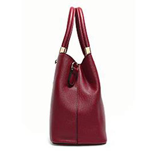 Red Nouveaux Une Les Bandoulière Mode Épaule Tendance Diagonale Pour Poches En Sacs Main À Femmes Shopping xAZqPH0w