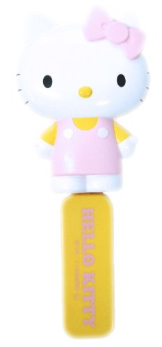 Hair brush with mirror folding pink Hello Kitty (japan -