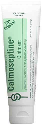 Calmoseptine Ointment Tube 4 Oz (3 Pack) by Calmoseptine