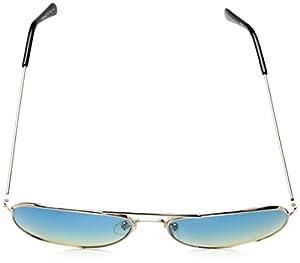A.J. Morgan Skye Aviator Sunglasses, Gold / Blue, 56 mm