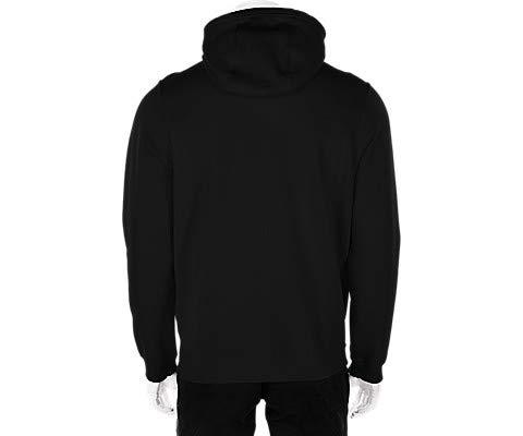 Nike Sportswear Just Do it Full Zip Hoodie, Black, s D(M) US