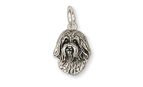 Havanese CharmSterling Silver Jewelry