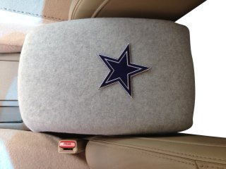 JAGUAR X TYPE 2002 CAR SUV (not pictured) Truck Auto Center Armrest Console Cover with Dallas Cowboy Star Patch