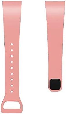 Mlpohters YHM for redmi Bracelet Bracelet en Silicone (Blanc) (Color : Khaki) Flesh Pink