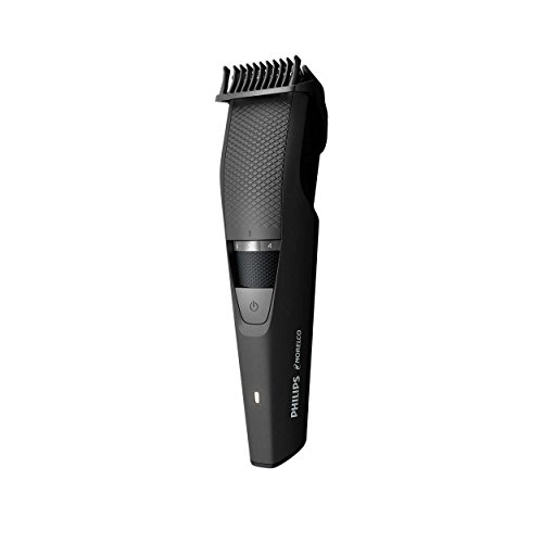 Norelco WORLDWIDE VOLTAGE Cordless Men's Beard Trimmer with All NEW Locking Feature and 20 Length Settings with Skin Friendly Titanium Self Sharpening Blades