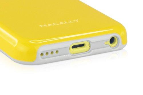 Macally FlexFit Schutzhülle für Apple iPhone 5C gelb