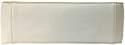 Gio Cellini Sac Femme Midibag Saffiano Blanc Modèle BP008 Midibag Peindre