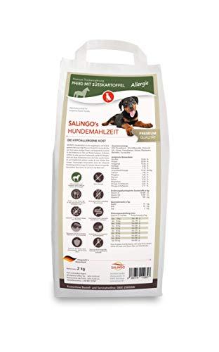SALiNGO Premium Trockenfutter für Hunde | Hundefutter trocken Pferd mit Süßkartoffel | getreidefrei | Hoher…