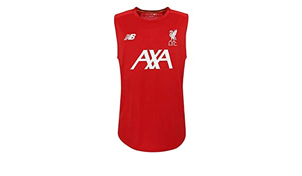 8dff3a2103b08 Amazon.com : Liverpool FC Red Polyester Mens Soccer Training Off ...