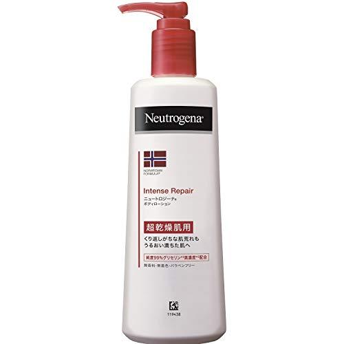 Neutrogena(ニュートロジーナ) ノルウェーフォーミュラ インテンスリペア ボディエマルジョン 超乾燥肌用 ボディローション 無香料 単品 250mL