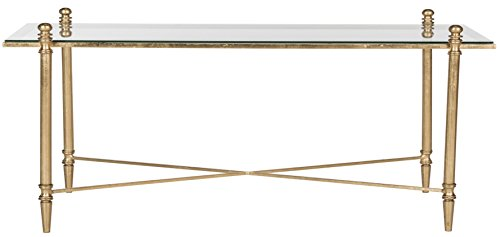 Safavieh Home Collection Tait Gold Coffee Table