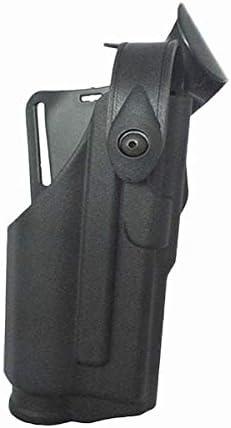 LIUSHUNBAO, Funda táctica for Glock 17 19 22 23 31 32 Airsoft Pistola Pistola Estuche Cojinete Linterna Caza Combate Glock Cinturón Plataforma Cintura