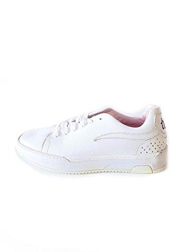 Rehab Damen Sneaker aus Kunstleder in Weiß Größe 38