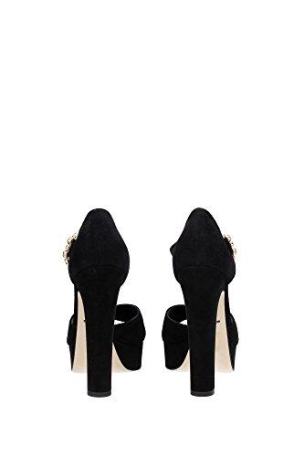 Dolce Negro amp;Gabbana EU Mujer Sandalias CR0039A127580999 dFx6Fn