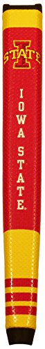 Team Golf NCAA Iowa State Cyclones Golf Putter Grip with Removable Gel Top Ball Marker, Durable Wide Grip & Easy to Control (University State Golf Arkansas)