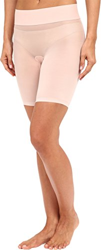 (Wolford Women's Sheer Touch Control Shorts, Rosepowder, 42)