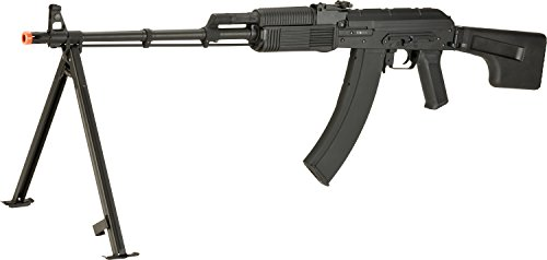 450 Fps Airsoft Type - Evike CYMA CM052A Full Metal RPK Airsoft AEG w/Bipod and Stock - Synthetic Furniture