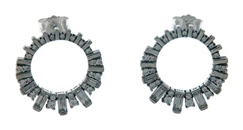 PANDORA Glacial Beauty 925 Sterling Silver Earrings - 297545CZ