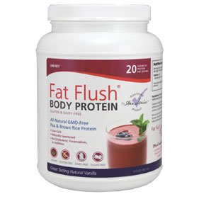 Fat Flush Body Protein - Gluten and Dairy-free Pea and Silk Rice Protein Powder